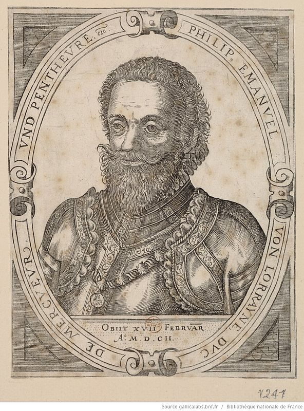 Philippe Emanuel De Mercoeur von Lorrayne duc de Penthièvre
